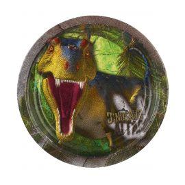 Platos dinosaurios 23cm