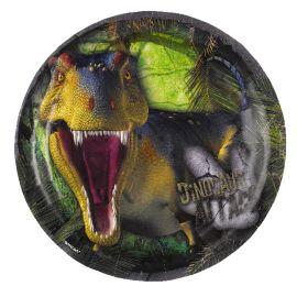 Platos dinosaurios postre