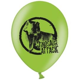 Globos dinosaurios pack 6
