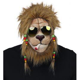 Mascara leon rasta