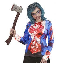 Camiseta zombie chica