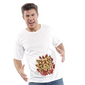 Camiseta con tripas xl