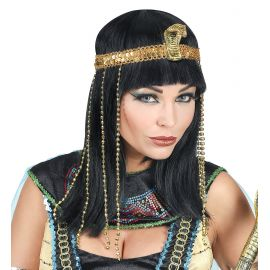 Peluca emperatriz egipcia