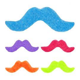 Set 5 bigotes colores