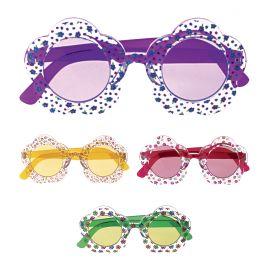 Gafas flor colores surtidas