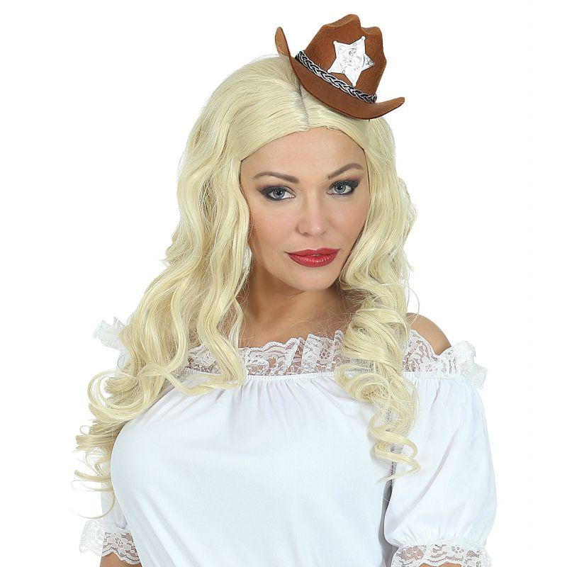 mini sombrero vaquera marron 956596f13a8