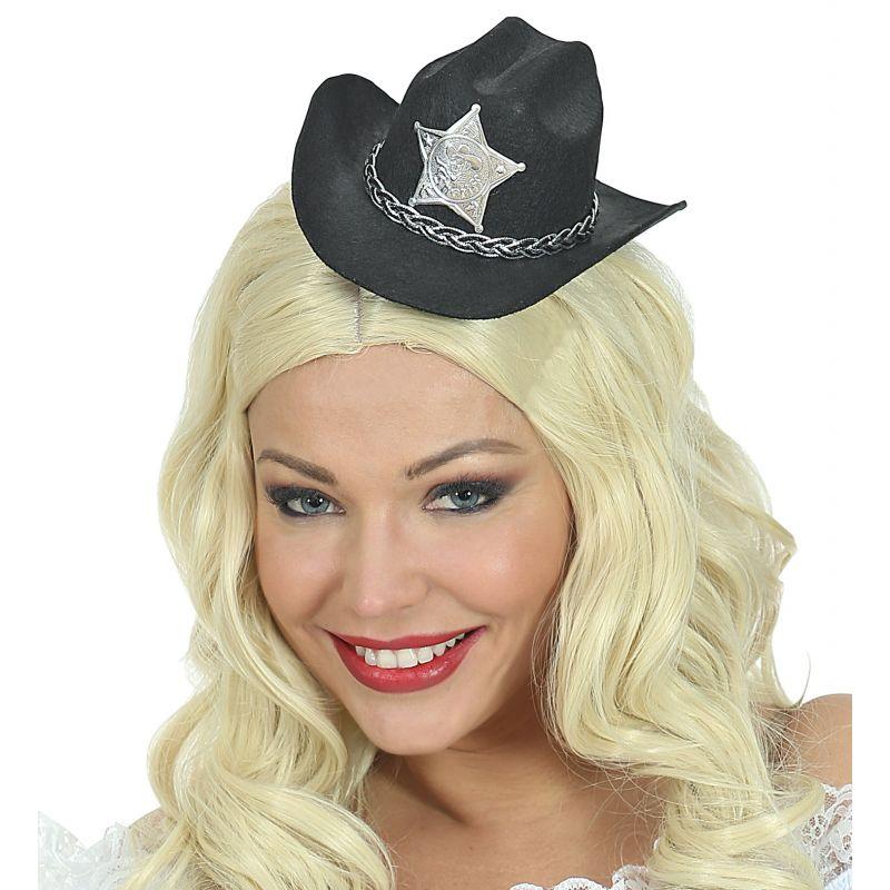 Mini sombrero vaquero negro d966d7b73e9