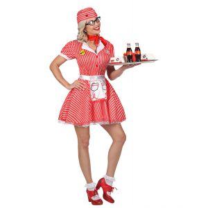 Disfraz camarera años 50