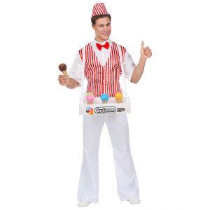 Disfraz heladero adulto