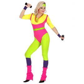 Disfraz entrenadora aerobic