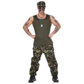 Disfraz soldado hombre