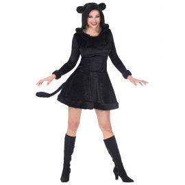 Disfraz pantera negra vestido