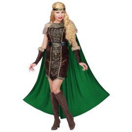Disfraz guerrera vikinga