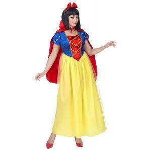 Disfraz princesa del bosque largo
