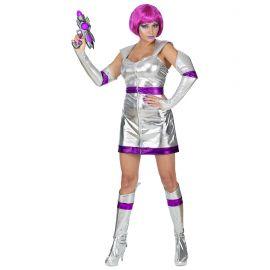 Disfraz chica del espacio