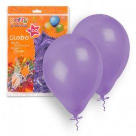 Bolsa 100 globos lilas