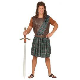 Disfraz escoces guerrero