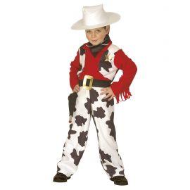 Disfraz vaquero 3-4 4-5