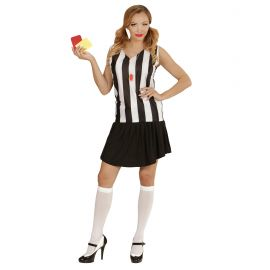Disfraz arbitro sexy chica