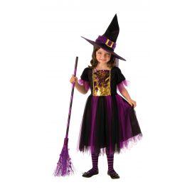 Disfraz bruja magica infantil
