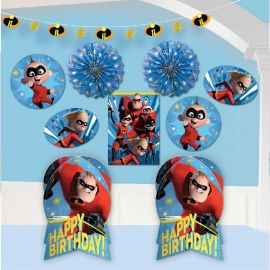 Kit decoracion los increibles