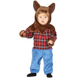 Disfraz bebe hombre lobo