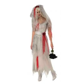 Disfraz novia fantasma rubies