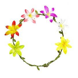 Diadema flores hibisco