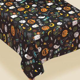 Mantel halloween flannel 1.37x2.60