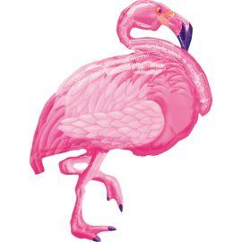 Globo helio flamenco rosa