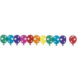Guirnalda globos con estrellas 3m