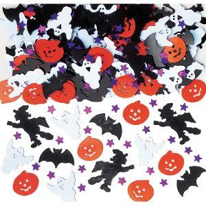 Confetti metal halloween