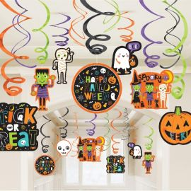 Pack decoracion halloween friends 30 pie