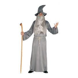 Disfraz mago gris adulto