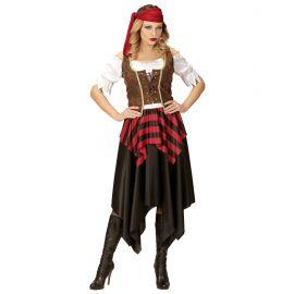 Disfraz pirata corse chica