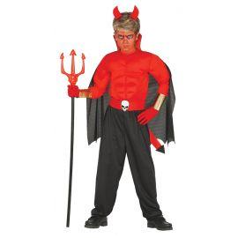 Disfraz demonio musculos inf