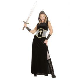 Disfraz juana de arco largo