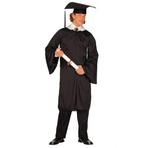 Disfraz graduado adulto