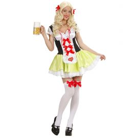 Disfraz bavara tirolesa camarera
