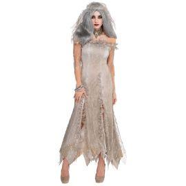 Disfraz novia inmortal adulto