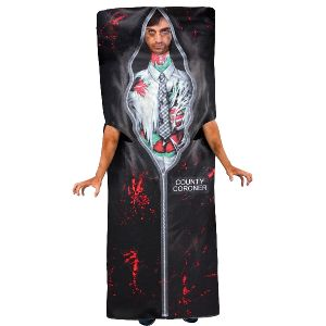 Disfraz muerto en bolsa