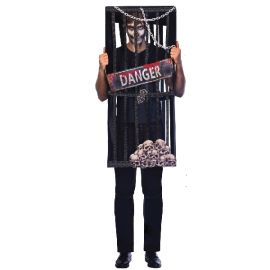 Disfraz zombie encarcelado adt