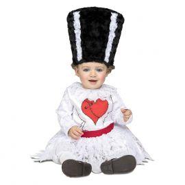 Disfraz novia franki bebe