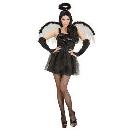 Disfraz angel negro adt