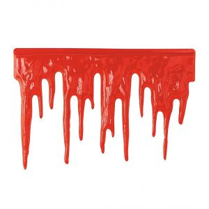 Decoracion sangre 60x40