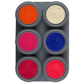 Paleta 6 colores fluor
