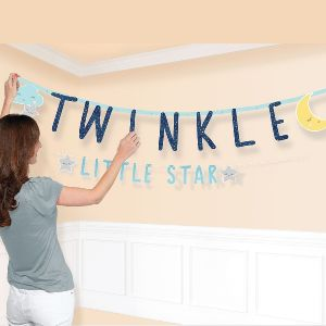 Banderin letras twinkle toes b day