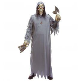 Disfraz zombie gris