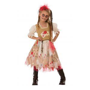 Disfraz voodoo niña