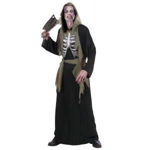 Disfraz zombie huesos